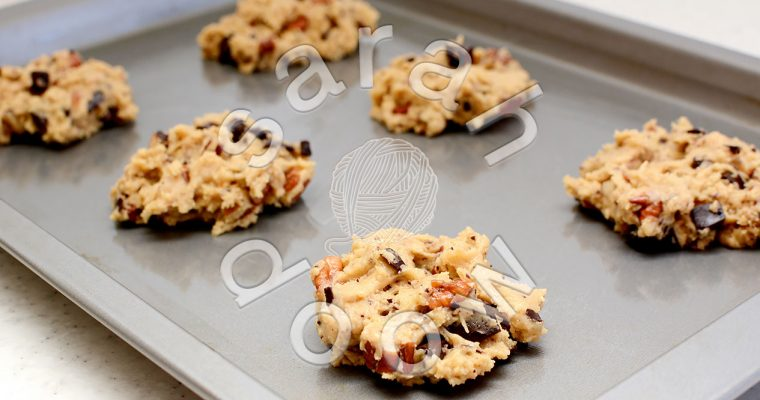 Photos: Yummy chocolate chip and pecan cookies