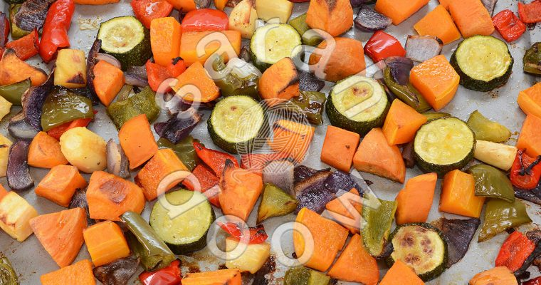 Photos: Roasting vegetables