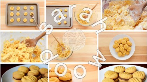 Yo yo biscuits by Sarah Doow at Shutterstock