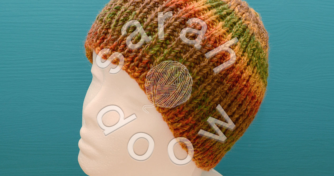 Knitted hats on Etsy