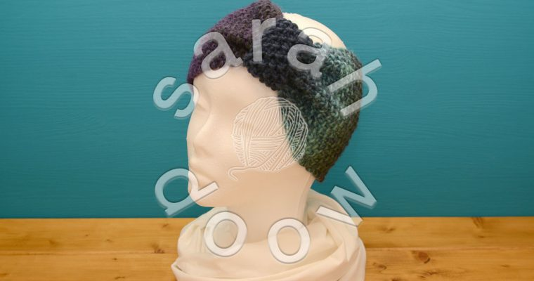 Knitted headbands on Etsy