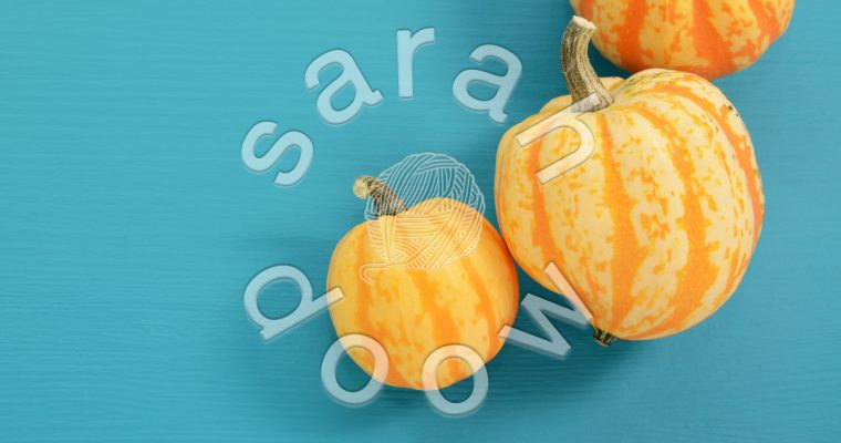 Gourds on blue – Society6 collection