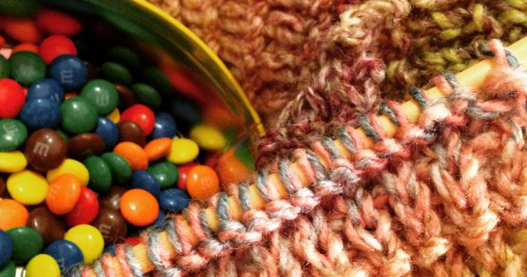 Behind the scenes – Knitting treats