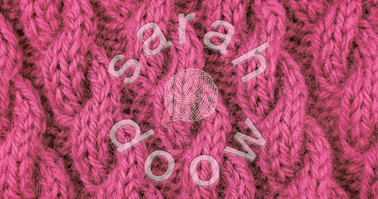 Pink cable knitting stitch – Society6 collection