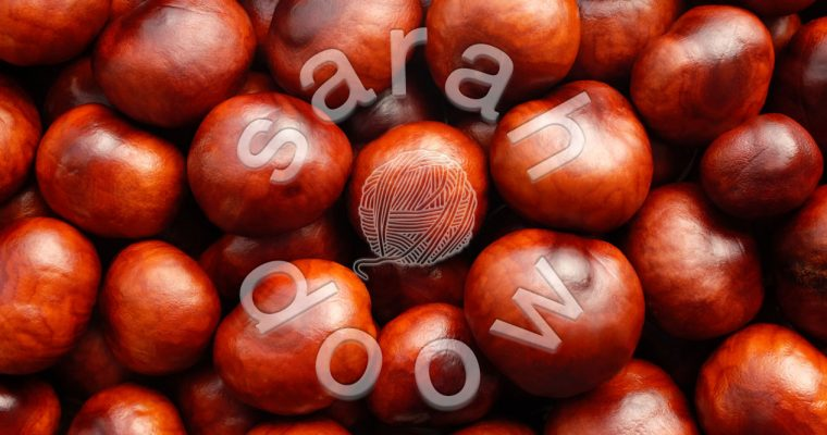Red conkers – Society6 collection
