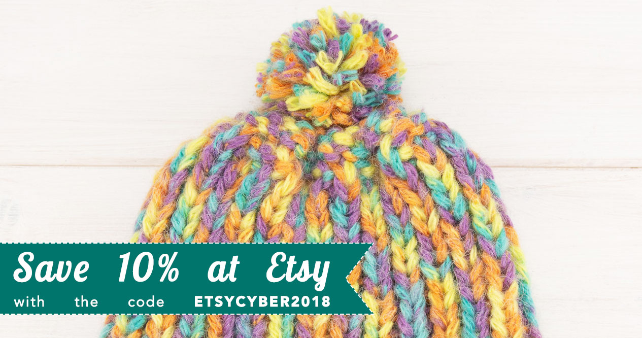 Cyber Week Sale 2018 at Etsy!