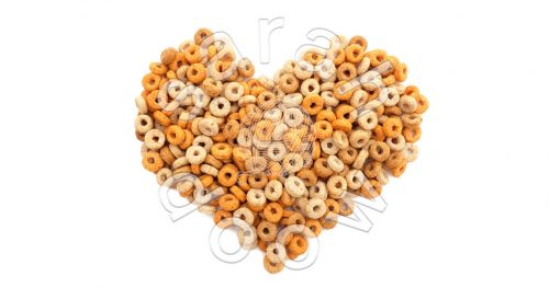 Society6 cheerios heart collection