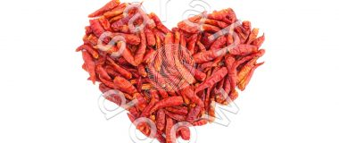 Society6 chilli peppers heart collection